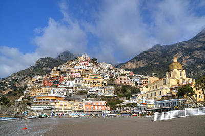 Positano - Amalfi Coast Poster by Joana Kruse