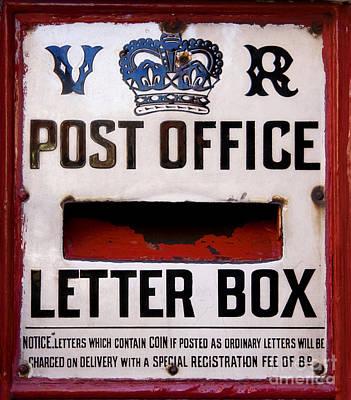 Post Box Poster by Jane Rix