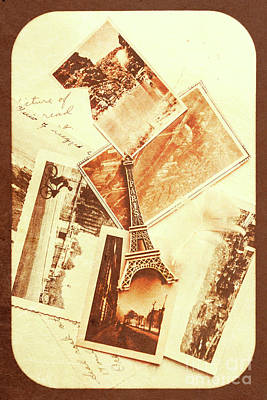 Postcards And Letters From The City Of Love Poster by Jorgo Photography - Wall Art Gallery