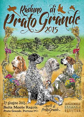 Poster Prato Grande 2015 Poster by Sanguemiele Design