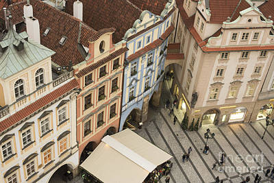 Prague. Old Town Square Poster by Juli Scalzi