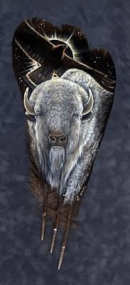 Prairie Eclipse Poster by Sandra SanTara