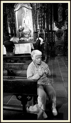 Praying Poster by Daniel Gomez
