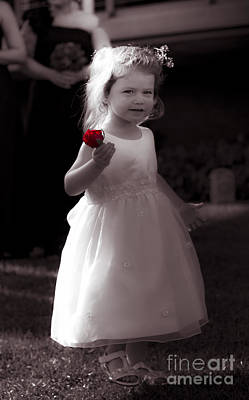 Precious Flower Girl Poster by Jorgo Photography - Wall Art Gallery