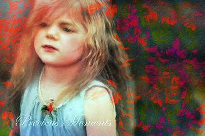 Precious Moments Of Innocence Poster by Georgiana Romanovna