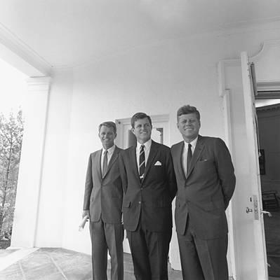 President John Kennedy Poster by Everett