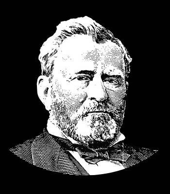 President Ulysses S. Grant Poster by War Is Hell Store