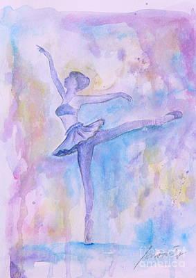 Prima Ballerina Poster by Pristine Cartera Turkus