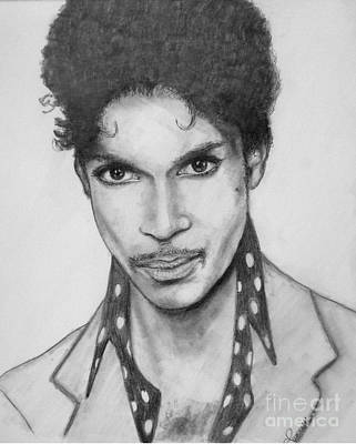 Prince Poster by Patrice Torrillo