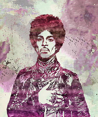 Prince - Purple Rain Poster by - BaluX -