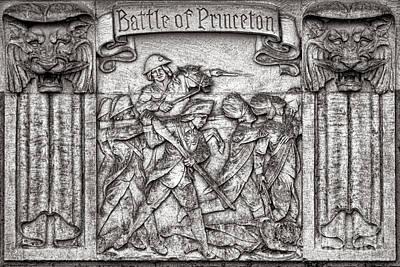 Princeton University Battle Commemorative Plaque Poster by Olivier Le Queinec