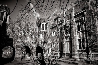 Princeton University Foulke And Henry Halls Archway Poster by Olivier Le Queinec