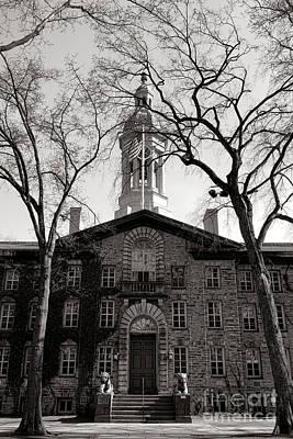Princeton University Nassau Hall  Poster by Olivier Le Queinec