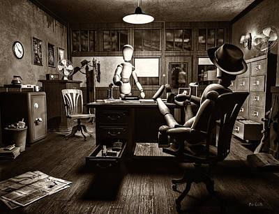 Private Detective Poster by Bob Orsillo