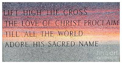 Proclaim His Name-c Poster by Kathleen Struckle