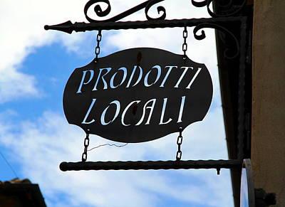 Prodotti Locali Poster by Valentino Visentini