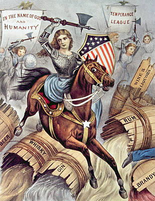 Prohibition And The Womans Holy War Aka Poster by Everett