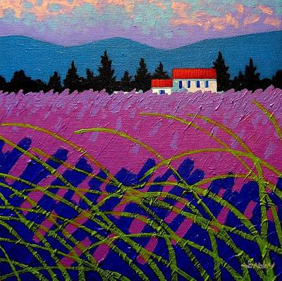 Provence Landscape Poster by John  Nolan