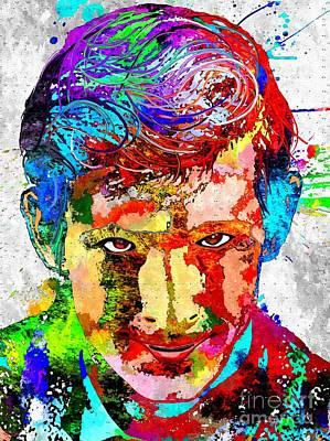 Psycho Grunge Poster by Daniel Janda