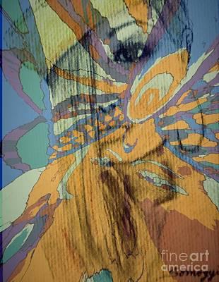 Pucci Princess Poster by Jayne Somogy