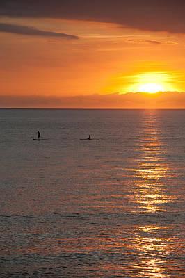 Puerto Vallarta Sunset Poster by Sebastian Musial
