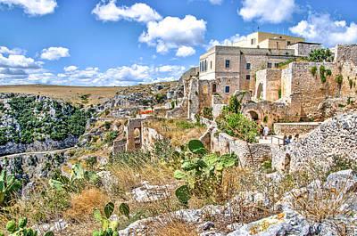 Puglia Canvas Church Hermitage Pulsano - Monte Sant Angelo - Foggia - Gargano Poster by Luca Lorenzelli