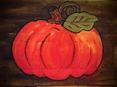 Pumpkin Poster by Cecil Grubbs