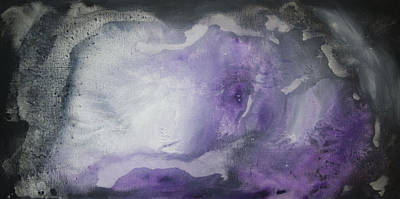 Purple Explosion By Madart Poster by Megan Duncanson
