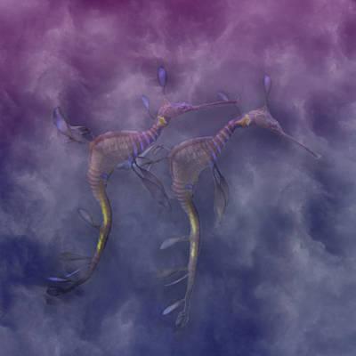 Purple Haze Poster by Betsy C Knapp