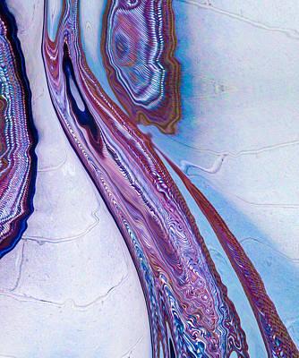 Purple Hoze Poster by Lynellen Nielsen