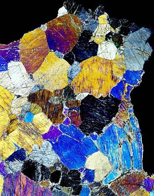 Pyroxenite Mineral, Light Micrograph Poster by Dirk Wiersma