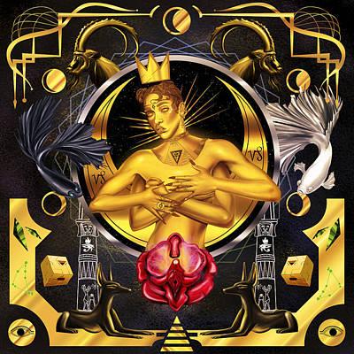 Queen Fka Twigs Illustration Poster by Kenal Louis