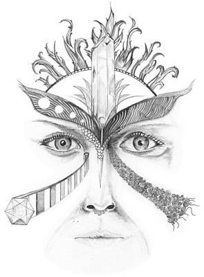 Queen Poster by Kip Hubbard