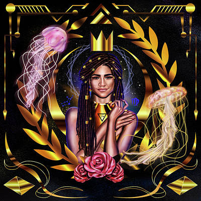 Queen Zendaya No.2 Poster by Kenal Louis