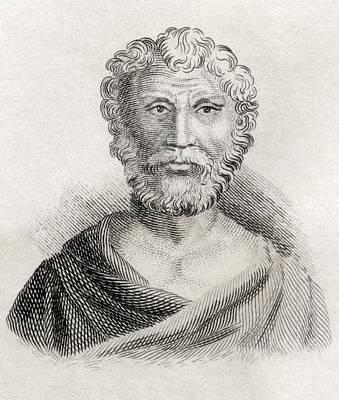 Quintus Junius Rusticus Born Circa. 100 Poster by Vintage Design Pics