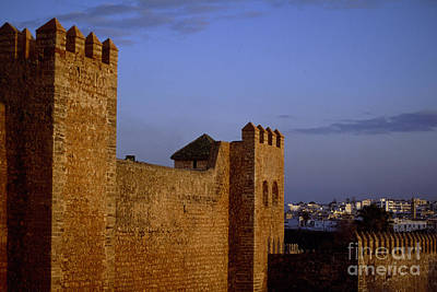 Rabat Kasbah Des Oudaias Morocco Poster by Antonio Martinho
