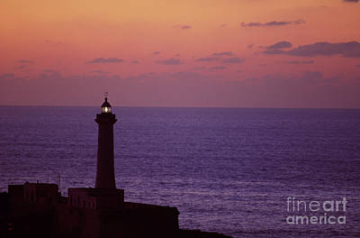 Rabat Morocco Lighthouse Poster by Antonio Martinho