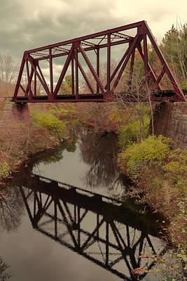 Railroad Bridge Poster by Laurie Breton