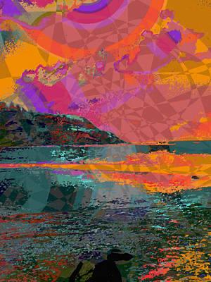 Rainbow Island 12 Poster by Kenneth Grzesik