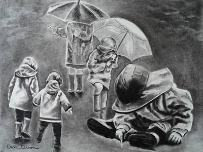 Rainy Daze Poster by Carla Carson