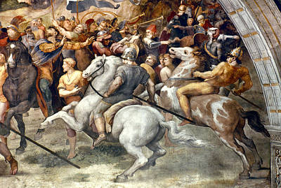 Raphael: Attilas Horsemen Poster by Granger