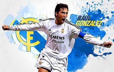 Raul Gonzales Poster by Semih Yurdabak