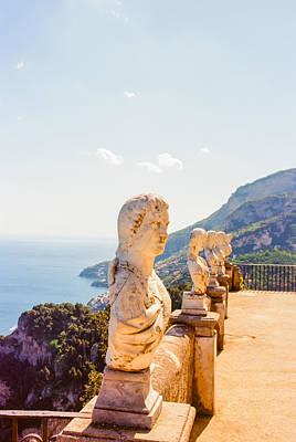 Ravello Amalfi Coast Italy Poster by Ariane Moshayedi
