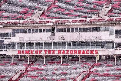 Razorback Stadium Poster by JC Findley