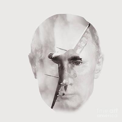 reactive Putin  Poster by Kristian Leov