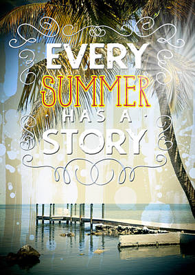 Reality Art Every Summer Poster by Melanie Viola