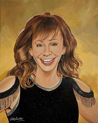 Reba Mcentire Poster by Bill Dunkley