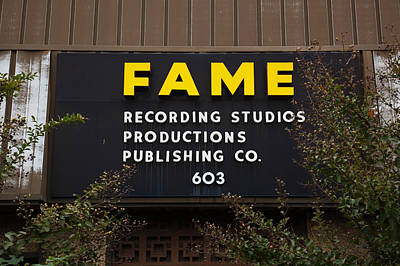 Recording Studio, Fame Recording Poster by Panoramic Images