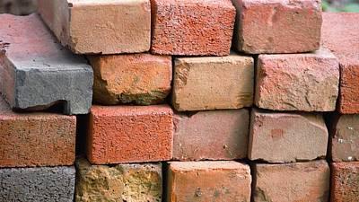 Red Bricks Poster by Jasmin Hrnjic