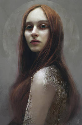 Red Poster by Eve Ventrue